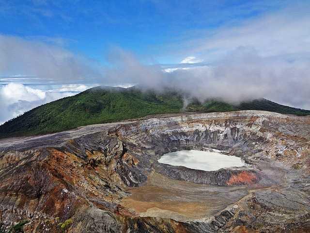 טיול לקוסטה ריקה - הר הגעש פואס