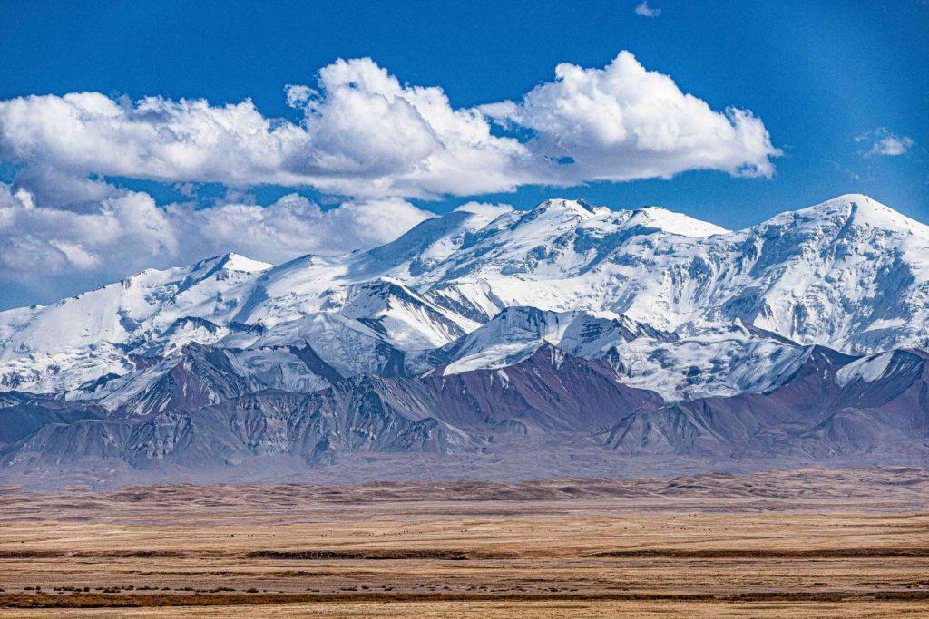 הרי פמיר המשולגים בטג'יקיסטן